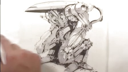 华裔国际概念设计大师朱峰手绘系列教程