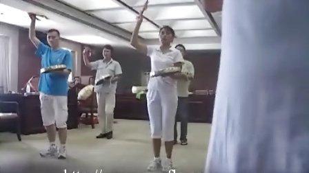威风锣鼓示范演奏训练
