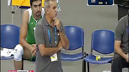 2013.9.29第十七届男排亚锦赛 韩国-伊拉克1