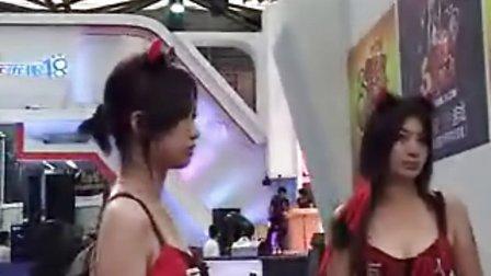 巨人展台SG 30秒到1分钟为CJ镜头门女主角