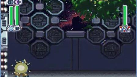PS洛克人X4日版蜘蛛弱点的具体表现演示