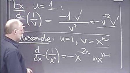 [单变量微积分:链式法则和高阶微分].Lecture.04