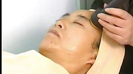 尚赫超音波美容理疗仪操作手法