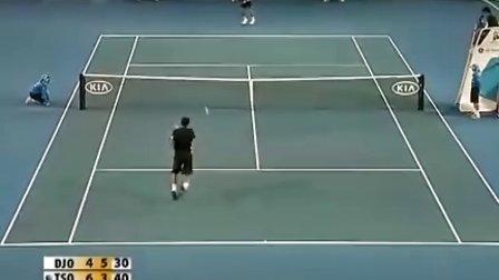 「高清」2008年ATP澳网决赛 德约科维奇-特松加 全场比赛