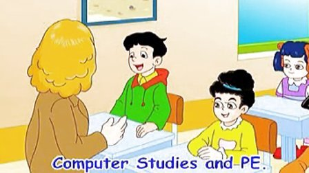 苏教译林版牛津小学英语五年级下册5A第一单元动教材同步VCD画视频