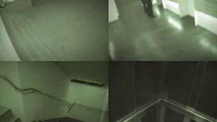 海南省儋州市那大镇荣兴大酒店电梯监控录像拍到鬼.flv