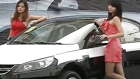 车模秀——2010《长江商报》汽车嘉年华江淮和悦车模!
