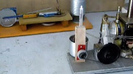 家庭工艺土法制作的蒸汽机之2-----针管蒸汽机带发电机