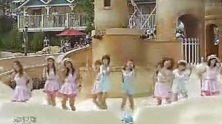 090815 MBC音乐中心 少女时代-Etude 海水浴场告别舞台