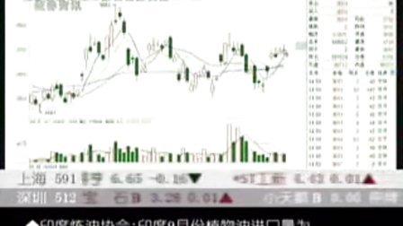 09年10月15日CCTV证券资讯-期货时间