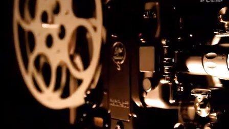 老式电影放映机视频素材