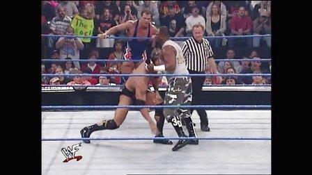The Rock  Kurt Angle vs. Dudley Boyz Tag Team