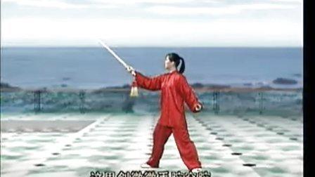 吴阿敏42式太极剑5 (12-16)式