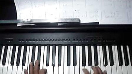 天空之城简谱钢琴初学教学慢速指法不懂加qq423860214