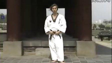 跆拳道基本腿法教学3
