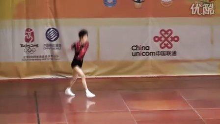 2008全国健美操锦标赛新人组男子单人操(李文强)