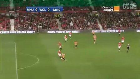 联赛杯 欧文助攻维尔贝克进球 曼联险胜狼队