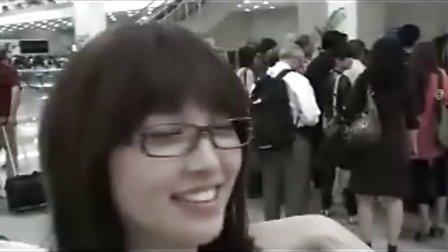 林俊杰金莎机场偶遇
