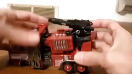 102-美版经典2.0 V级消防车《救火车》-变形金刚经典系列宇宙对决V级Inferno中文测评