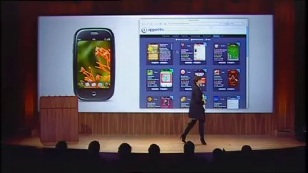Palm's presentation at the 2010 CES