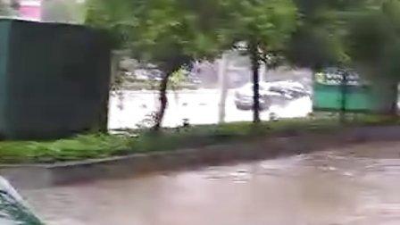 湖南省邵阳市双清区陶家冲涨大水