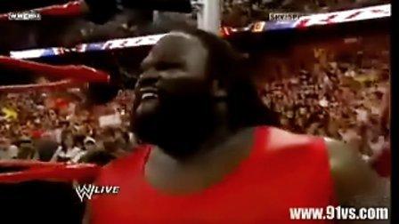 wwe美国职业摔角8月 WWE 美国职业摔角 RAW 2009年8月3日赛事第四部分 英文版