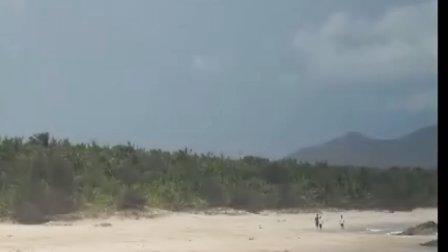 三亚山羊清水湾冲浪视频-麒麟户外