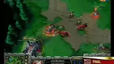 WCG2009魔兽争霸总决赛-Infi vs Fly100%