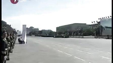 国庆60大阅兵 胡锦涛主席检阅三军仪仗队