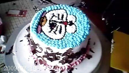 DIY蛋糕机器猫 天津大学生创业加盟连锁 甜蜜蜜DIY蛋糕店烘焙工坊顾客作品