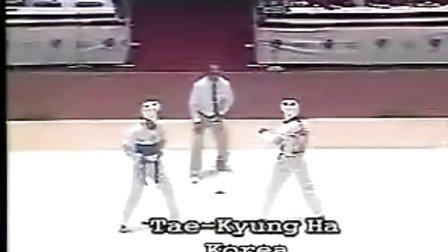 【侯韧杰 TKD 比赛篇】之 跆拳道1988-1997比赛(2)