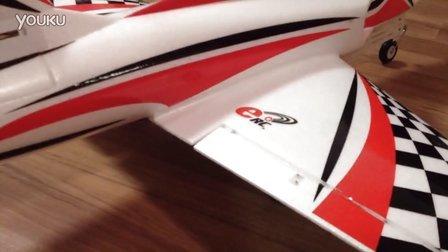 飞翼70涵道竞速机襟翼混控及升降舵量