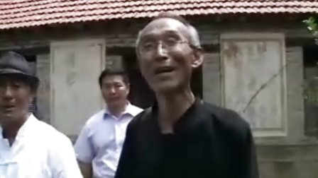孔庆乐瞻仰吴式太极拳北派师祖王茂斋故居