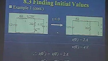 電路學 Electric Circuits 8-2_8-3