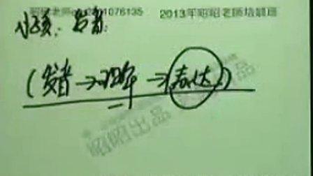 2013刘钊儿科串讲1
