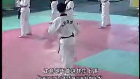 【侯韧杰 TKD 教学篇】之崔永福跆拳道29