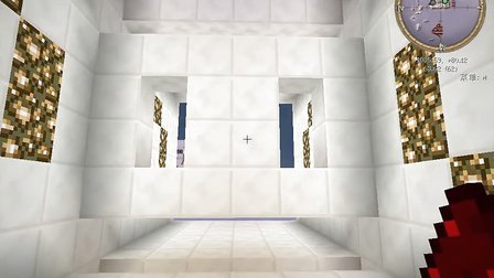 我的世界展示6x6活塞门[非本人作品]和隐藏地狱门