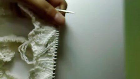 一步一步教你织叶子花小背心--叶子花的第十六行-------18