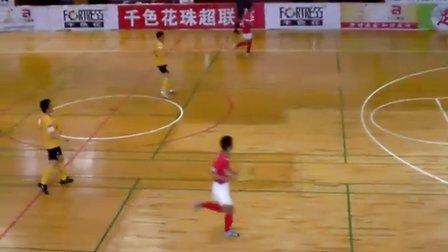珠超五人足球联赛广州果王古广明对深圳五人行1