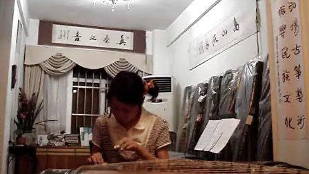 蒋冰柔古筝演奏六级练习曲双手分指练习