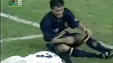 马拉多纳1995重返绿茵场  黄健翔解说