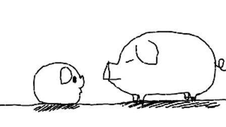 猪母女的搞笑对话(瑞昌话)