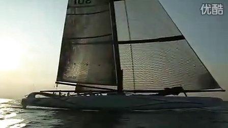 Alinghi 5 - Sailing in Genoa - 25 August 2009