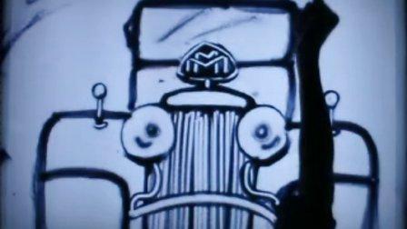迈巴赫汽车推广沙画视频
