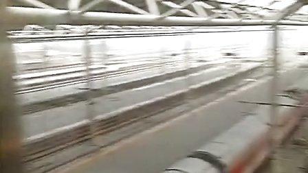 西安北-北京西,G88次霸气跨越石家庄站高速场