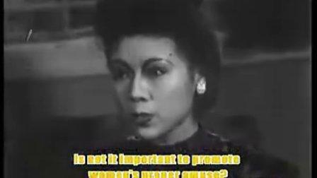 中国电影《摩登女性》;〔上海明星电影公司1935年出品;胡蝶主演〕