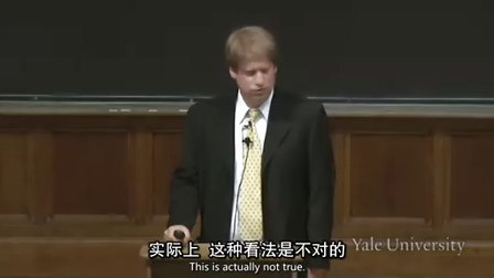 [耶鲁大学开放课程-心理学导论 第二课 (中英字幕)