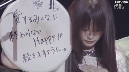 日本女子乐队Scandal鼓手Rina Suzuki(铃木理菜)Drum Solo at Budok