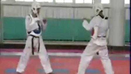 跆拳道腿法基础训练