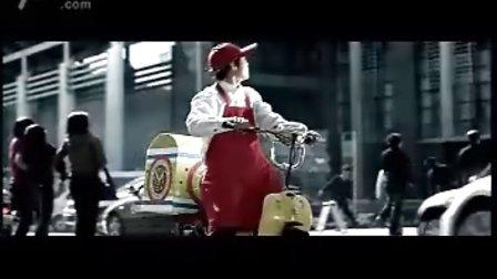 可口可乐畅爽迎圣火奥运激情红遍全国主题广告